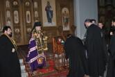 Архиепископ Софроний возглавил богослужение с чином прощения в Спасском соборе города Могилева
