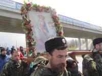 """Традиционно в крестных ходах принимают участие казаки из РОО """"Белорусское казачество"""""""