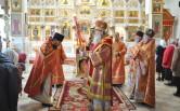 В Неделю жен-мироносиц епископ Софроний посетил город Кричев