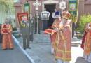 В войсковой части 6713 состоялось празднование дня памяти великомученика Георгия Победоносца.