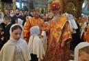 Архиерейское богослужение в Никольском монастыре