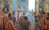 Архиерейское богослужение в день памяти благоверных князей Бориса и Глеба