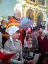 Пасхальный праздник в воскресной школе Свято-Михайловского храма в Климовичах