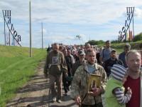 Вход богомольцев в Шклов