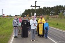 Встреча витебскими священниками Андреем Дорощенко и Сергием Воробьевым