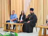 Протоиерей Сергий Лобода принял участие в родительском собрании Ленинского района