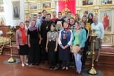 Паломничество чериковской молодежи к святыням Кричева и Мстиславля
