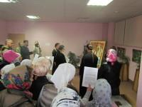 Утренний молебен новомученикам Церкви Русской