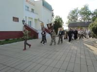 Крестный ход по месту разрушенного Ильинского храма