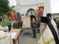 Молебен по прибытии в Кутеинский монастырь