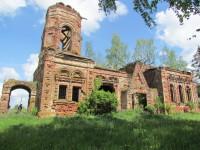 Разрушенный храм пророка Илии между Оршей и Ореховском