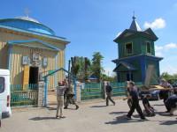 Ореховская святыня - деревянный храм Святой Троицы 1838 года постройки