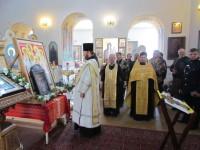 Молебен  новомученикам в Марковом монастыре