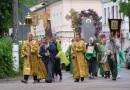 Участники крестного хода в честь новомучеников вошли в город Невель