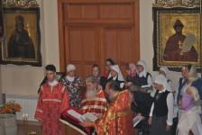 Водосвятный молебен перед Литургией