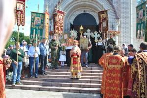 Соборный молебен Царственным мученикам