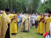 Праздник у источника 12 апостолов в Чериковском районе