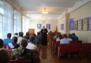 Встреча со священником в Чаусском РОВД