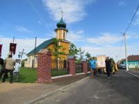 Спасо-Преображенский храм в поселке Копысь