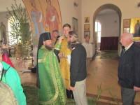 Крестный ход прибыл в витебский мужской Свято-Троицкий Марков монастырь
