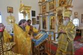 Епископ Софроний поздравил протоиерея Сергия Маслова с 25-летием священнического служения
