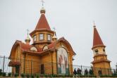 В Шкловском районе освятили новый храм в честь святителя Николая Чудотворца