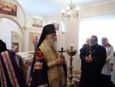 Владыка Софроний освятил молитвенную комнату в Чаусском доме-интернате
