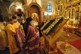 Престольный праздник в Свято-Никольском монастыре