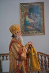 Архиерейское богослужение в Неделю святых праотец