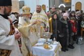 В праздник Крещения Господня епископ Софроний совершил Литургию и великое освящение воды в Спасском соборе