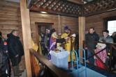В Могилевском районе владыка Софроний освятил часовню с купелью