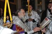 Накануне праздника Богоявления епископ Софроний совершил Всенощное бдение
