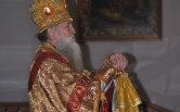Архиерейское богослужение в Неделю перед Рождеством Христовым