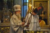 Архиерейское богослужение в навечерие Рождества Христова