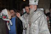 В канун праздника Рождества Христова епископ Софроний совершил Всенощное бдение