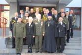 Могилевские священники участвовали в торжественном мероприятии, посвященном 100-летию Вооруженных Сил РБ