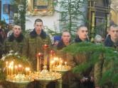 Воины встретили праздник Рождества Христова