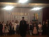 Рождественское представление в аг. Техтин