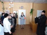 Беседа о Великом посте с пожилыми людьми в Кричеве
