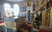 В среду первой седмицы Великого поста архиепископ Софроний совершил Литургию Преждеосвященных Даров в Трехсвятительском соборе