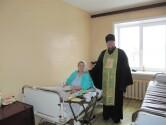 Настоятель храма Рождества Пресвятой Богородицы г.Черикова посетил районную больницу