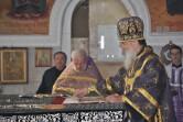 В Великий Четверток архиепископ Софроний совершил Литургию в Трехсвятительском соборе г. Могилева