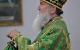 В Неделю ваий Владыка Софроний совершил Литургию в Спасо-Преображенском соборе
