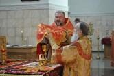 В Неделю 2-ю по Пасхе архиепископ  Софроний совершил Литургию в Спасо-Преображенском  соборе г. Могилева