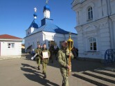 Военнослужащие Могилева встретили Пасху