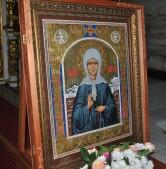 Престольный праздник в храме блаженной Матроны Московской поселка Присно