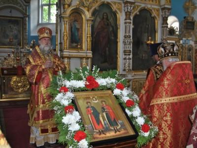 День перенесения мощей благоверных князей-страстотерпцев Бориса и Глеба отметили в Могилеве