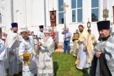 Престольный праздник храма Вознесения Господня в Горках