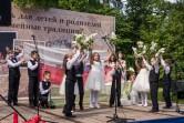 В Могилеве прошел первый городской фестиваль семейных традиций