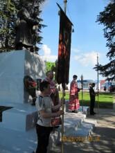 В Черикове молитвенно почтили память погибших в годы Великой Отечественной войны